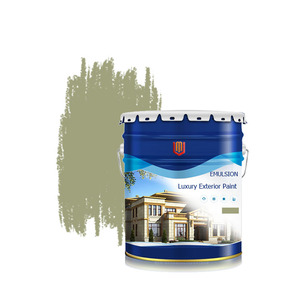 Gold Supplier Non-Toxic Waterborne Water Base Exterior Emulsion Paint