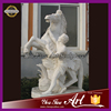 Famous statue Life Size Marble Horse Man Statue