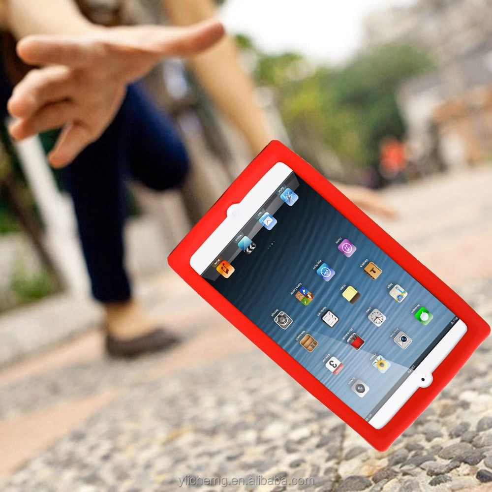 Portable Red, Hot Red Anti shock Eco friendly EVA Foam for Apple ipad 2 3 4 protective case