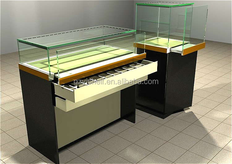 square with led light jewellery display display casejewelry display showcase