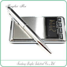 2016 for office &bussiness &school &promotional use high quality metal ball point engraved silver pen