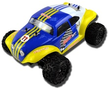 2.4G 1/18 scale 4wd brushless off road mad rc baja truck micro rc car