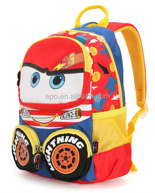 fashion new boy child school bag cartoon school bag manufacturer
