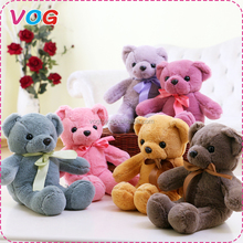 Personalized soft mini stuffed animal small teddy bear name custom plush toys for crane machines