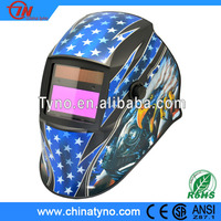 Auto darkening welding helmet Shade DIN9-13 with CE EN175 EN379 1/1/1/2 COLTS CSAS Z94.3 ANSI Z87 Z87.1