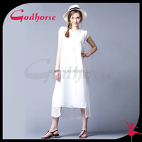 China WholeSale lace white dress, casual dress for girls