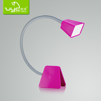 Ultra bright dimmable touch kids reading anti-glare flexible led clamp desk table clamp lamp