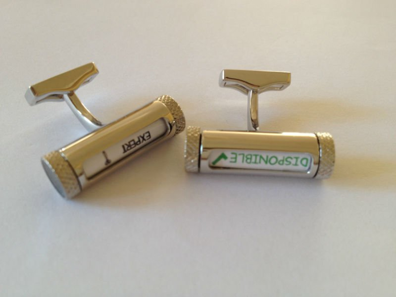 Naugty Mechanical Cufflinks