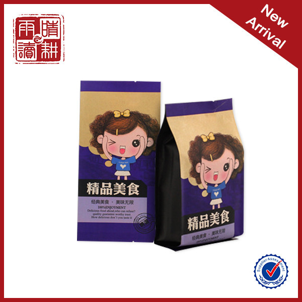 Food storage bag, kraft paper bag for milk powder, donuts kraft paper bag