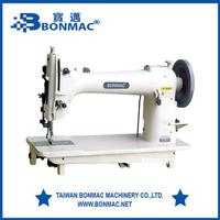 BM-GSC254 flat bed horizontal hook walking foot heavy duty industrial sewing machine price