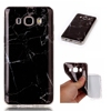 TPU Skin DIY Cellphone Marble Design Case Cover for Samsung Galaxy J5 J510 2016