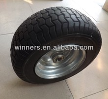 16x6.50-8PU wheel for airport trailer/ATV/lawn mover