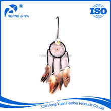 Alibaba Trade Assurance Customized OEM Dream Catcher Feather Decoration