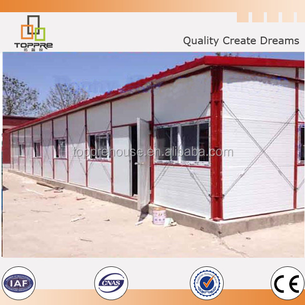 Nice Easy assembling cheap prefab house modular home made in China for Western Africa