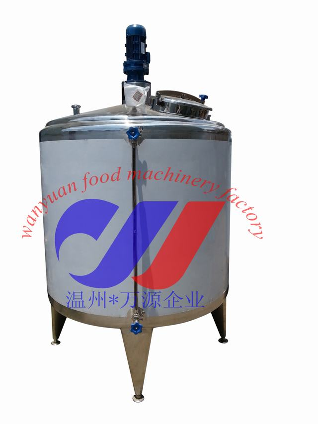 500L cooling and heating tank | aging tank for ice cream mix