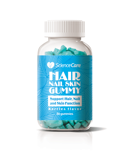 Dietary Supplement Hair Nail Skin Functional Biotin Gummy Candy Bear