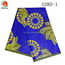 U282 Queency African Hollandaise Style Ankara Wax Print Fabric UK for Sale