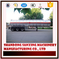 High temperature resistance aluminum fuel tanker trailer truck