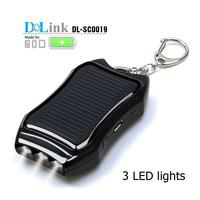 Mini Stylish Facilitate Handphone 1200mAh Keychain Solar Power Phone Charger