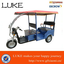 Three wheel blue open Electric Rickshaw XN-006 china