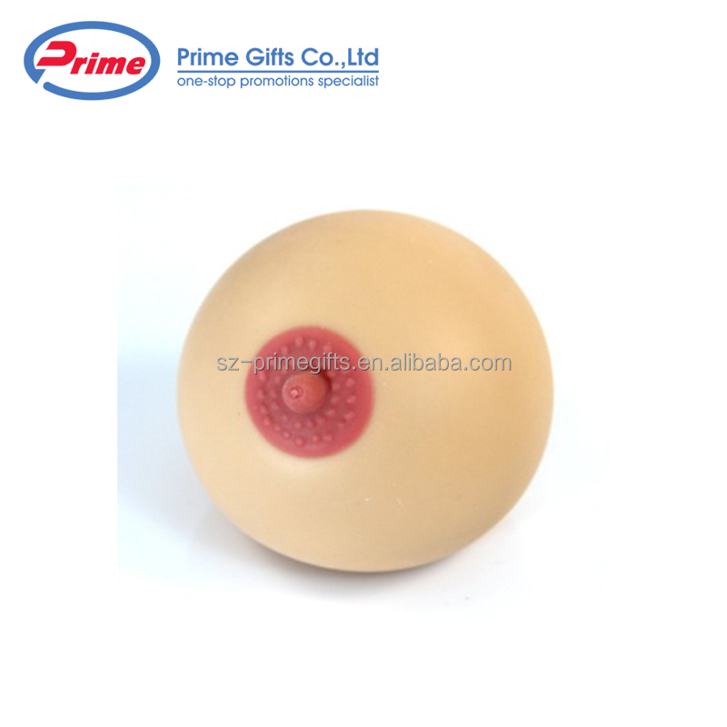 New Design PU Breast Stress Relief Ball for Sale