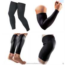 Private Label Custom Copper Calf Ankle Brace Arm Elbow Knee Compression Sleeve Support