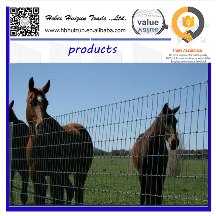 Cattle fence/diamond mesh horse fencing/horse rail fence