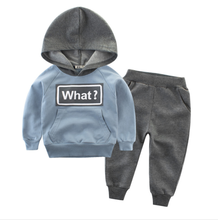 2019 spring new <strong>children's</strong> <strong>children's</strong> wear suits boy two <strong>sets</strong> of kids hoodie