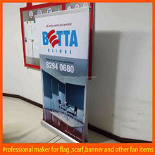 luxury tradeshow indoor roll up banners sizes