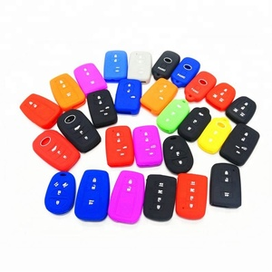 Various Car key protector Silicone key cover, key cover case for car
