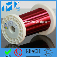 Electrical UL REACH certificated self bondable adhesive polyurethane enamelled magnet copper Speaker voice coil wire