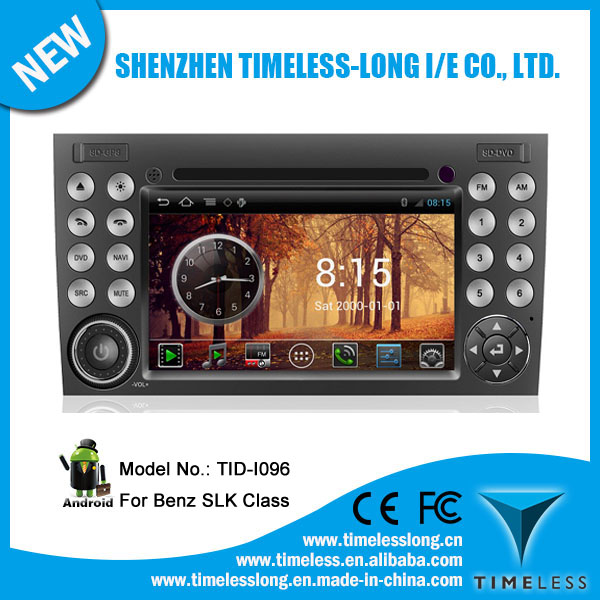Android system Car Audio for BENZ SLK-171 (2003-2011) with GPS Ipod DVR digital TV box BT Radio 3G/Wifi(TID-I096)