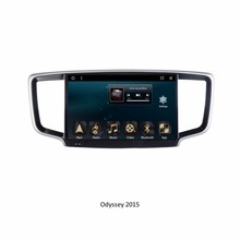 For Hondas Odyssey 2015 10.1 inch Touch Screen Android 6.0 Car GPS navigation systems Car Multimedia Player