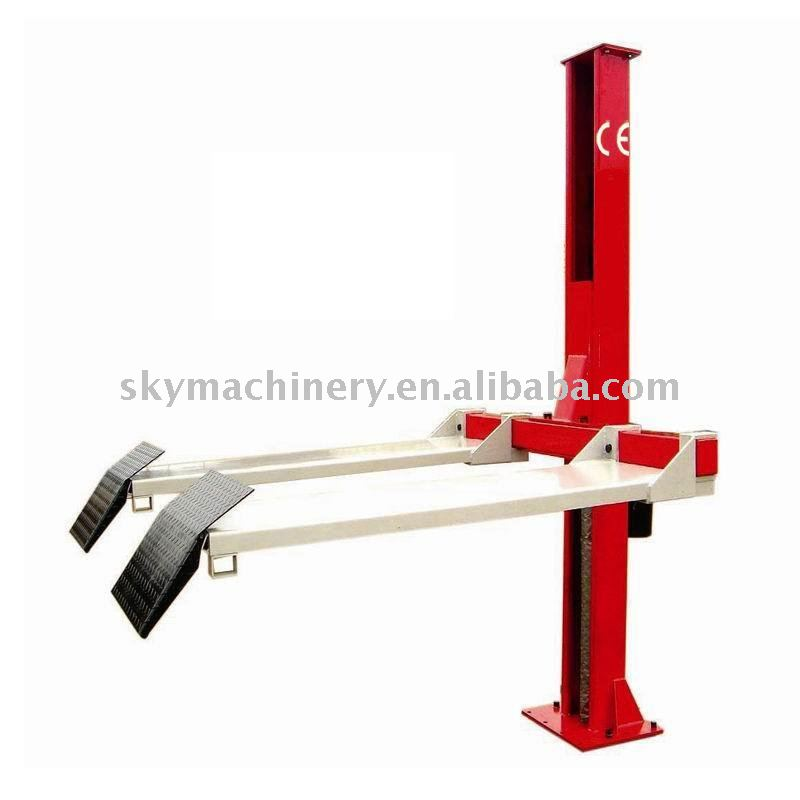 1 ton Electric single post lift with CE/car lifting equipment