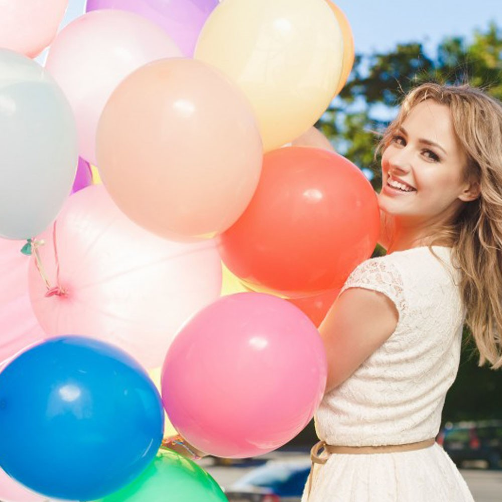 New Delhi Best Selling 2nd birthday party ideas aluminum latex balloons polka dot latex balloons