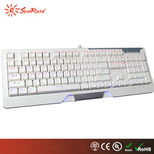Multifunctional gamer usb wired game keyboard price for wholesales
