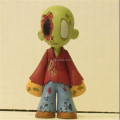 Customize 4 inch mising eyes walking dead pvc figurines, eco-friendly pvc action figure