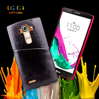 Wood Pattern With Card Slot Hard Coated Kickstand Case Protective for LG G4 Leather Cover -Balloon