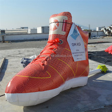 Advertising inflatable shoes balloon, inflatable sneakers replicas for promotion K3046