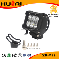 2016 China Manufacturer Auto Spare Parts Waterproof IP 67 Flood Spot Cambo Beam 18W LED Light Bar Fit for all Vehicles