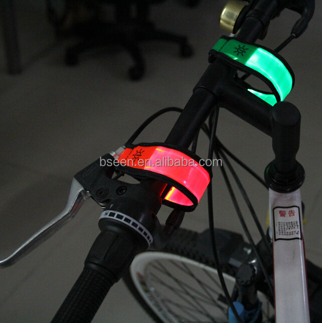Man Brand Power Bike Light Flashing Safety Items Light- Guide Hanger Newest fashion Sport Safety LED Glowing Hook