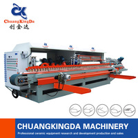 Automatic ceram tile arc edge machinery price chamfer or edge round moulding and grooving