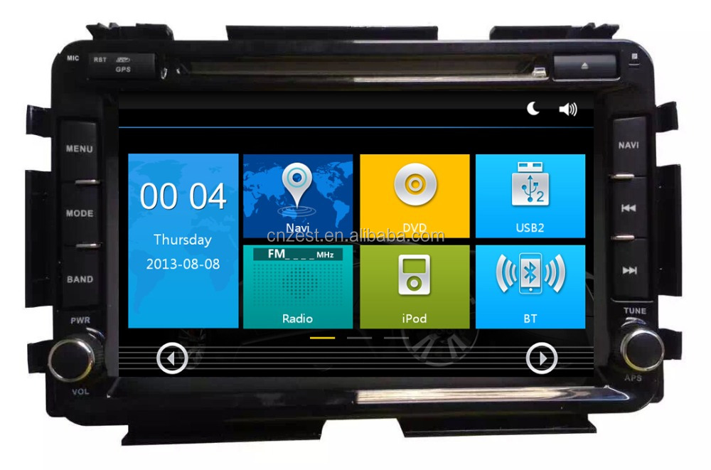 Digital Media Player For Honda HRV VEZEL 2015 car gps with auto radio Bluetooth SD USB Radio wifi 3G