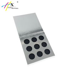 Luxury Eyeshadow Packaging, 9 Color Custom Cardboard Eyeshadow Palette