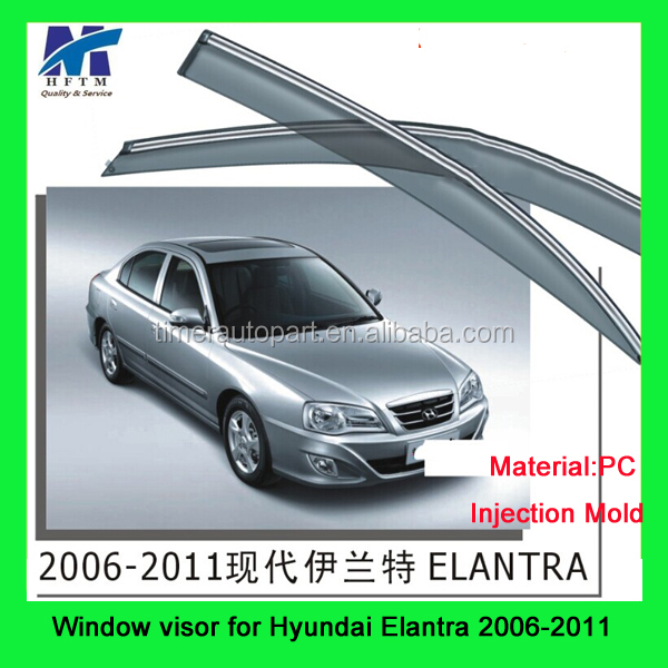 Side window deflectors sun visor car for Hyundai Elantra 2006-2011