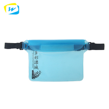 Hot Sale Stylish Design Ultra Thin Waterproof Sports Spandex Lycra Running Belt Pack Pouch Waist Bag
