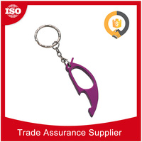 OEM ODM factory Promotional Aluminium Keychain metal can bottle opener