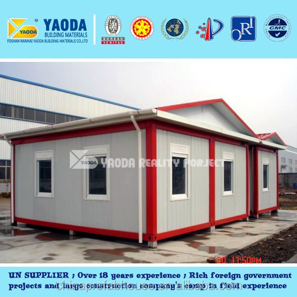 Sandwich Panel 20 Feet Container Modular prefabriated House Easy Sale