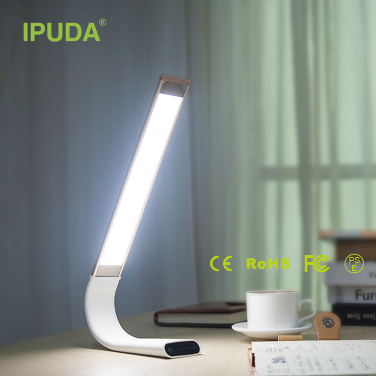 IPUDA rechargeable lamp with lithium ion battery for students kids
