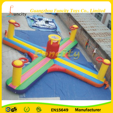 Exciting Inflatable Jumping Bungee Dunk / Inflatable Basketball Dunk Games